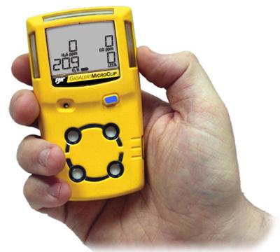 GasAlertMicroClip 四合一气体检测仪