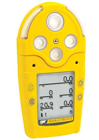 GasAlertMicro5 复合气体检测仪